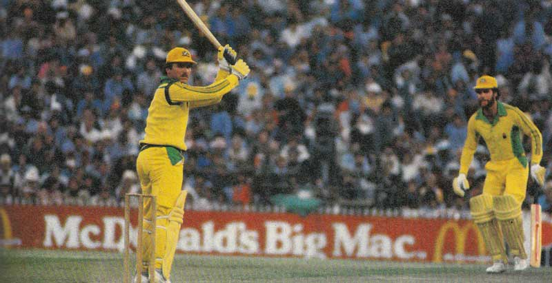 Allan Border one day cricket