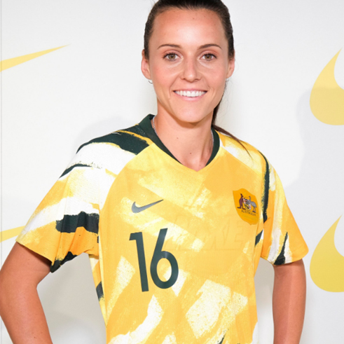 Loving the new Matildas kit