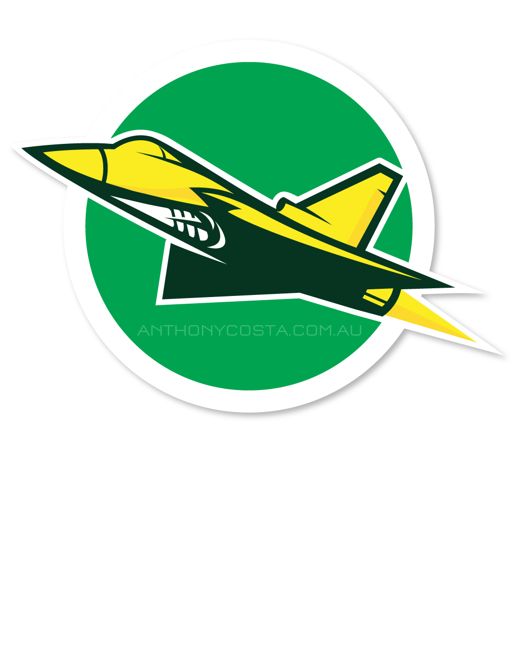 Joondalup Jets AFL sports logo design