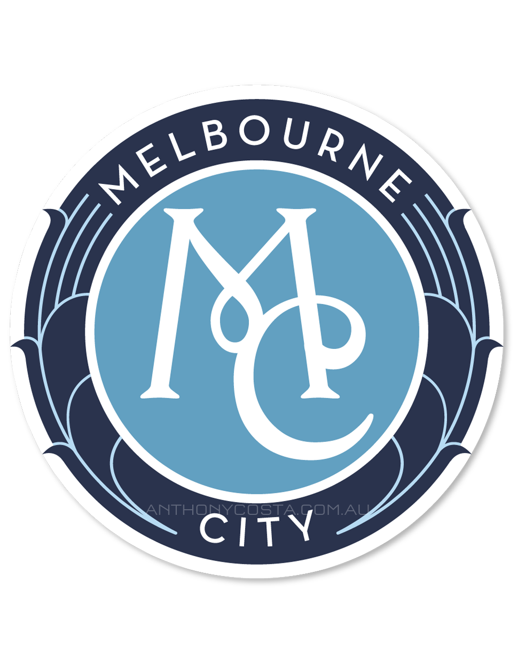 melbourne city fc concepts a league football logo design concepts