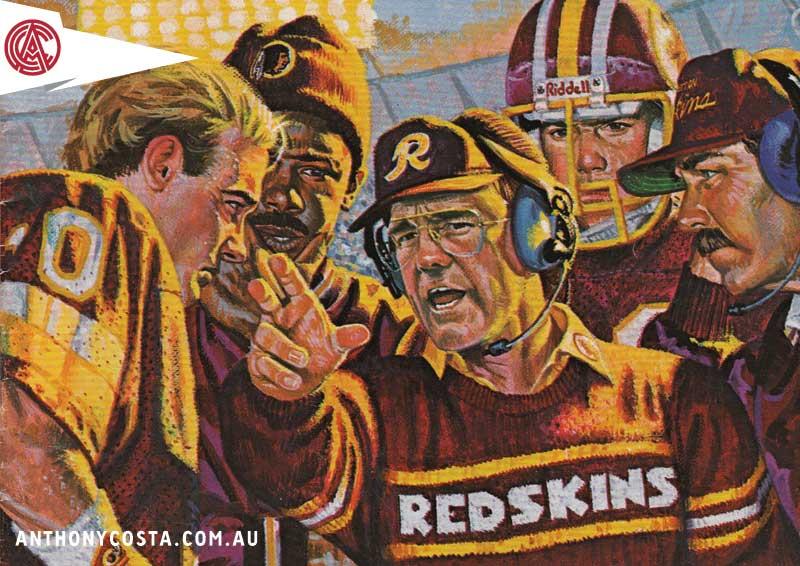 Retro NFL catalogue