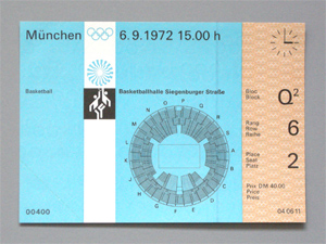 Olympic basketball ticket