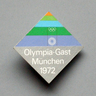 Olympic guest badge