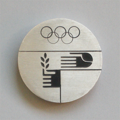 Olympic peace medal