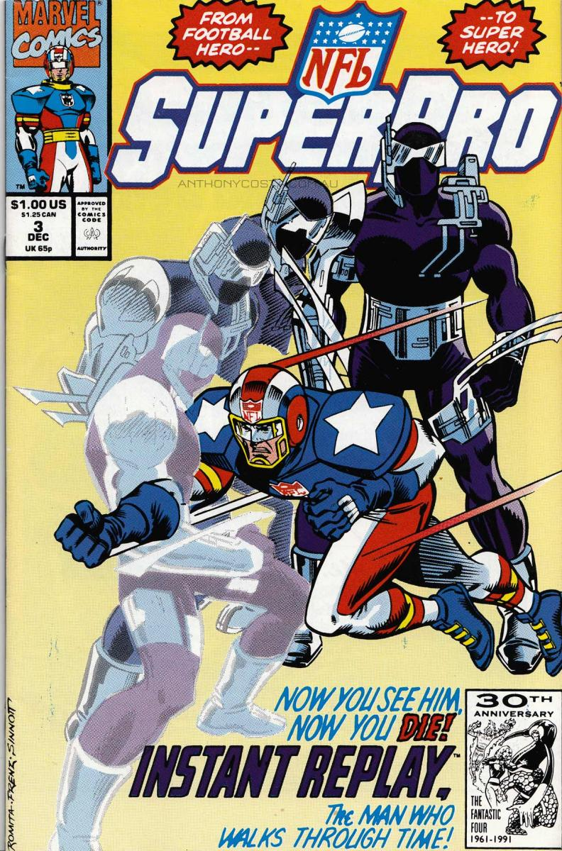 Super Pro NFL marvel issue 3