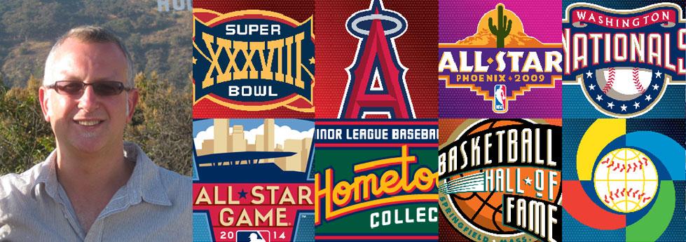 Todd Radom sports logo