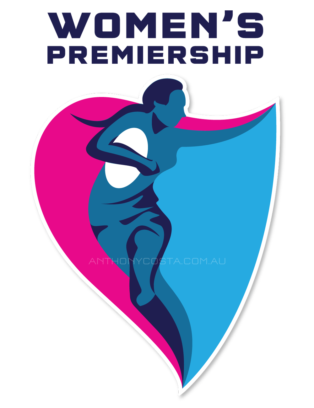 English Women's Premiership rugby logo