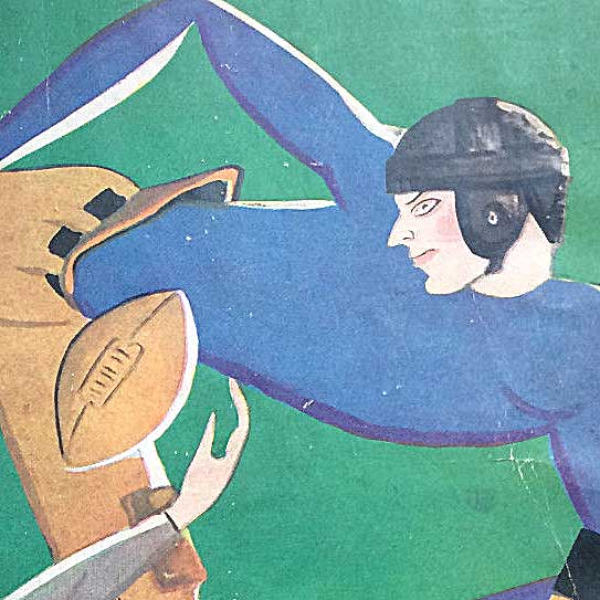 Yale v Army football program, 1927